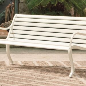 Oasi three seater - bench - white