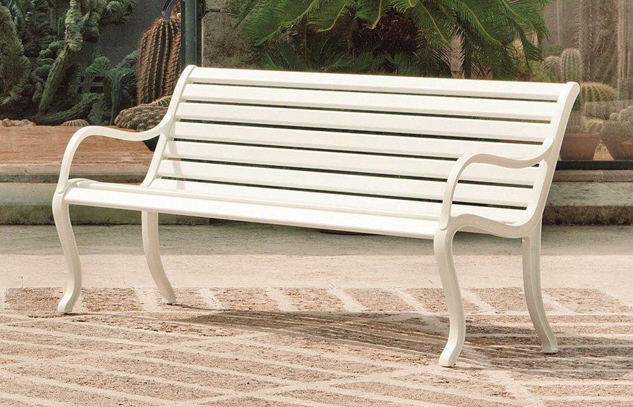 Oasi three seater – bench – white