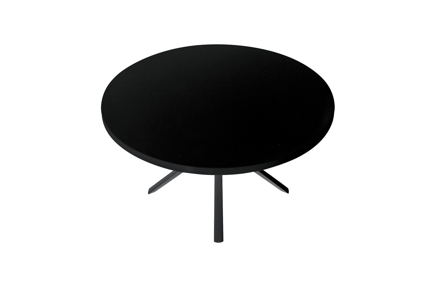 Oops table – round – black