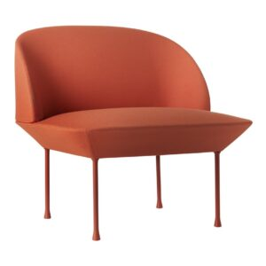 Oslo chair light tangerine - orange