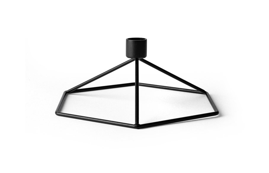 POV Candle holder Table – Black