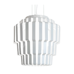 Pallas pendant lamp white