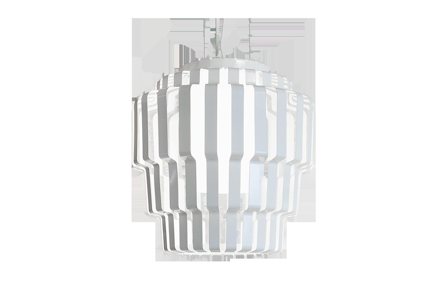 Pallas pendant lamp white
