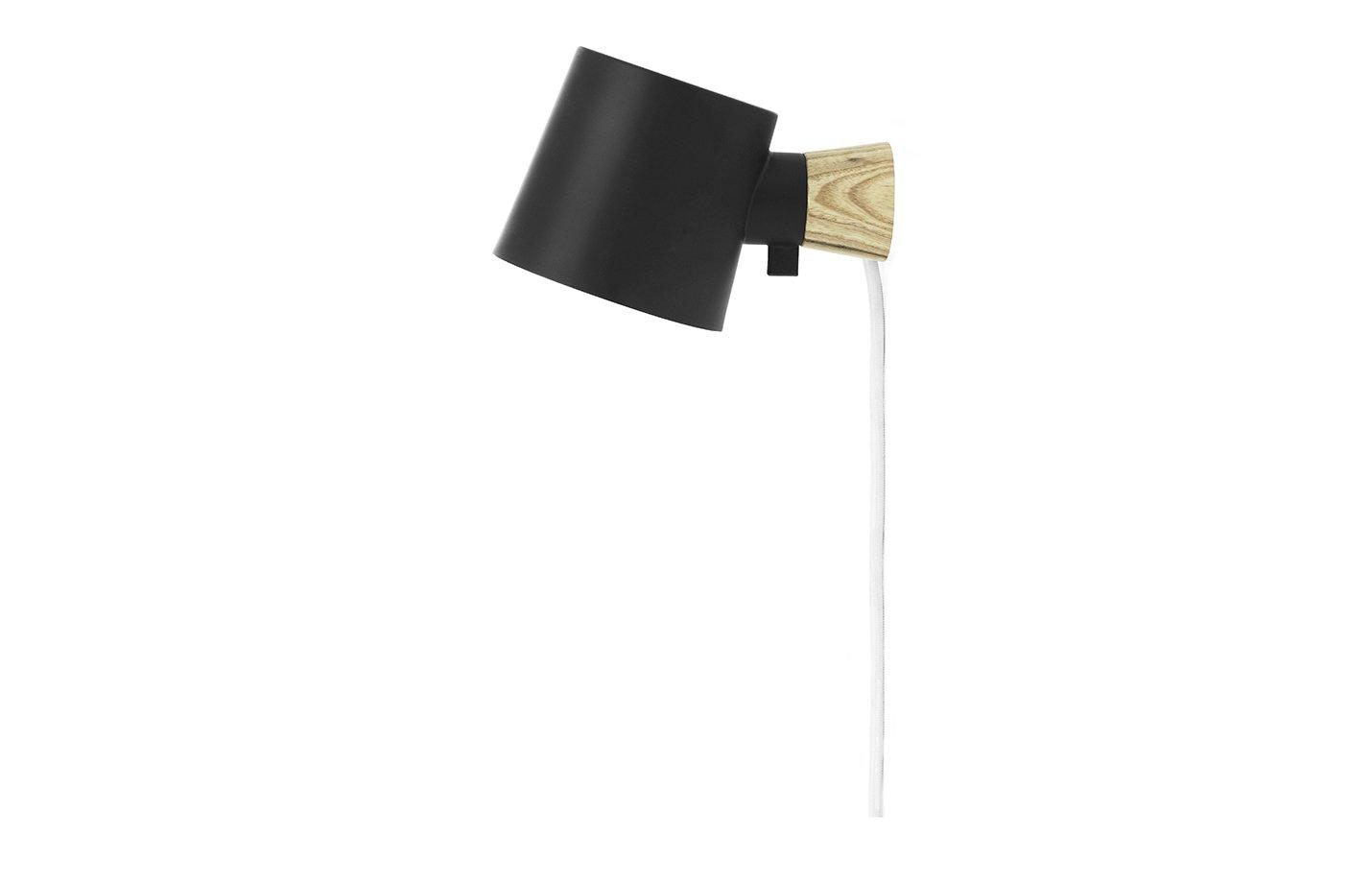 Rise wall lamp – Black
