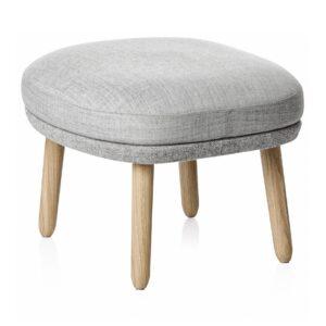 Ro footstool - Grey