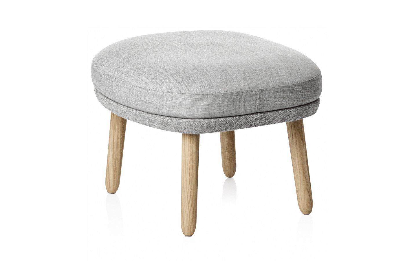 Ro footstool – Grey