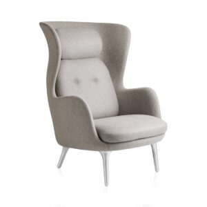 Ro lounge chair - light Grey