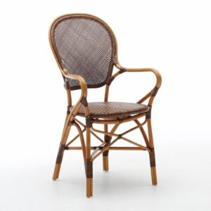 Rossini chair - rattan - cherry