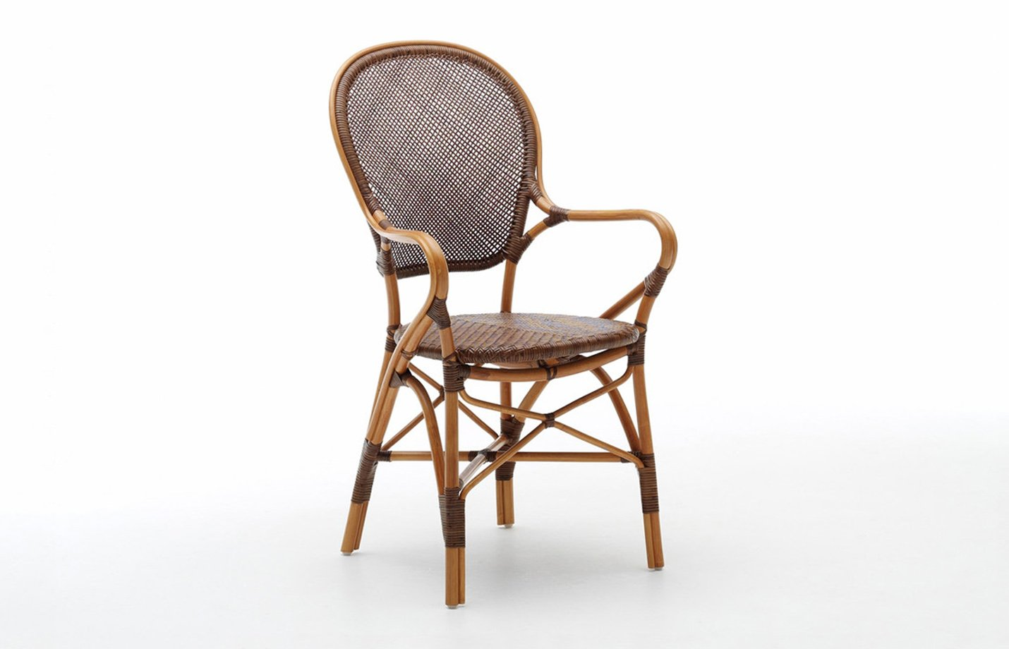 Rossini chair – rattan – cherry