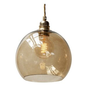 Rowan pendant lamp - Chestnut - Brown