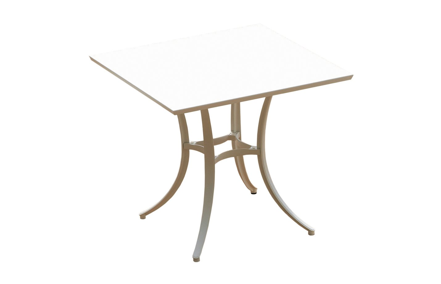 SOCIAL COLLECTION table – square – white