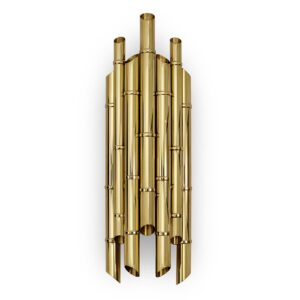 Saki wall light - Brass