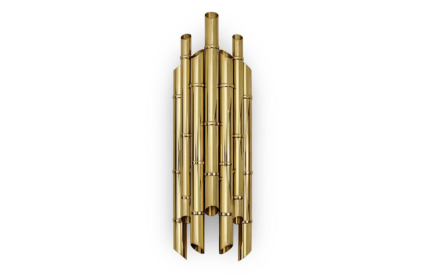 Saki wall light – Brass