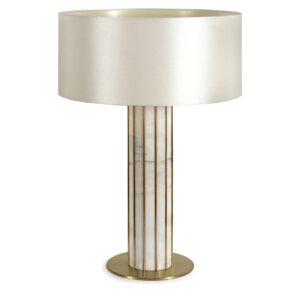Seagram table lamp white - pearl