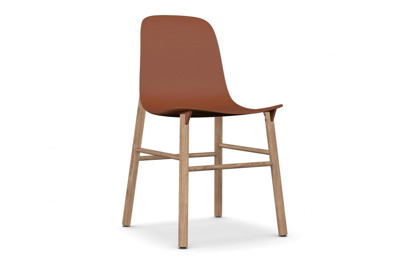 Sharky lounge chair – orange