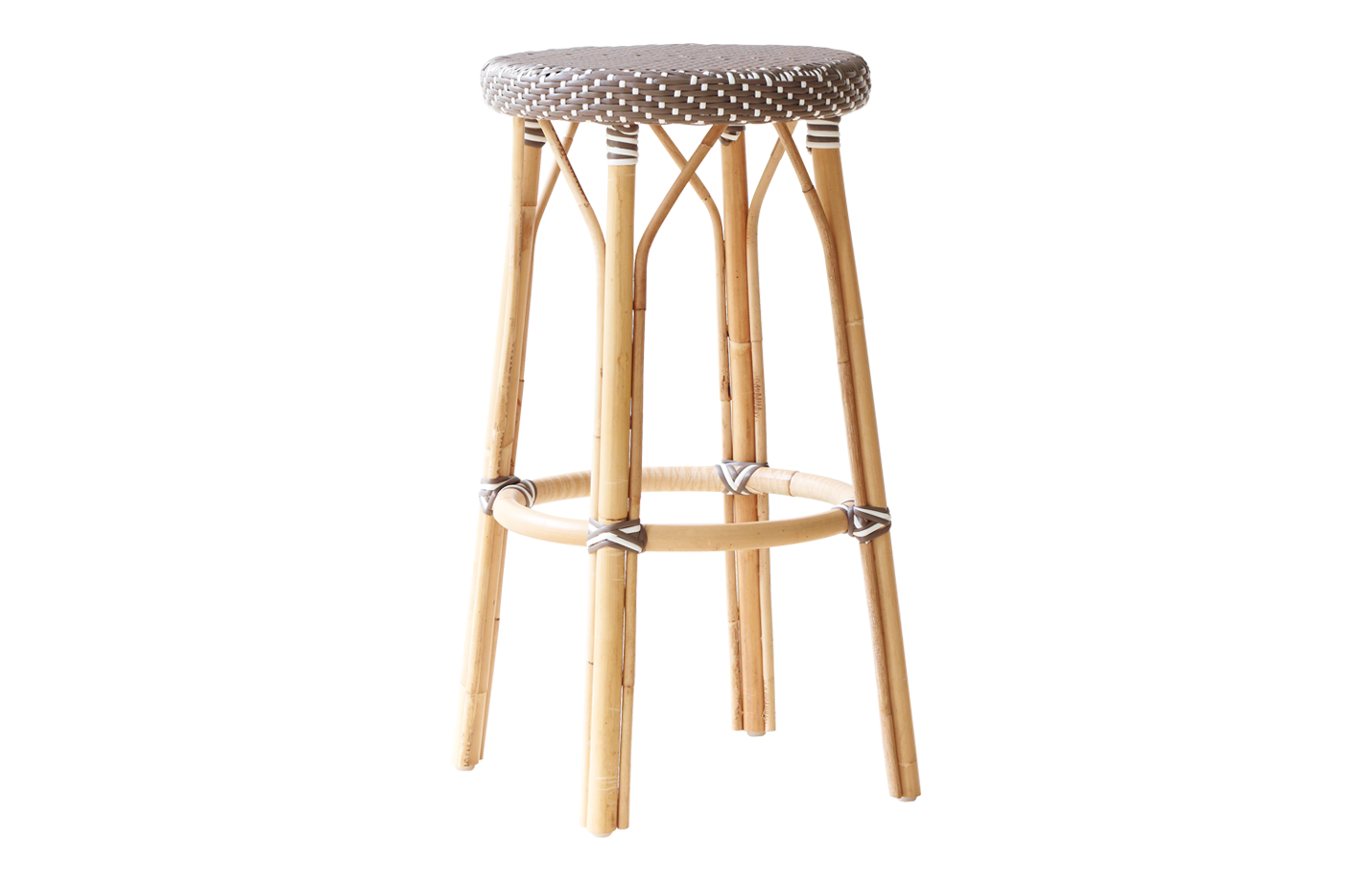 Simone bar stool – Brown