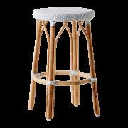 Simone-counter-stool-Grey-White-dot