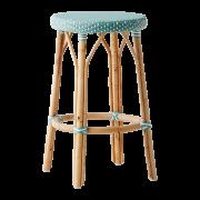 Simone-counter-stool-Salvie-green-White-dot