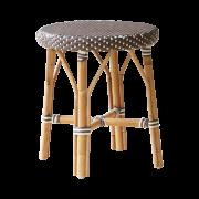 Simone-stool-Drak-Grey-white-dot