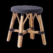 Simone stool-black-black-dot