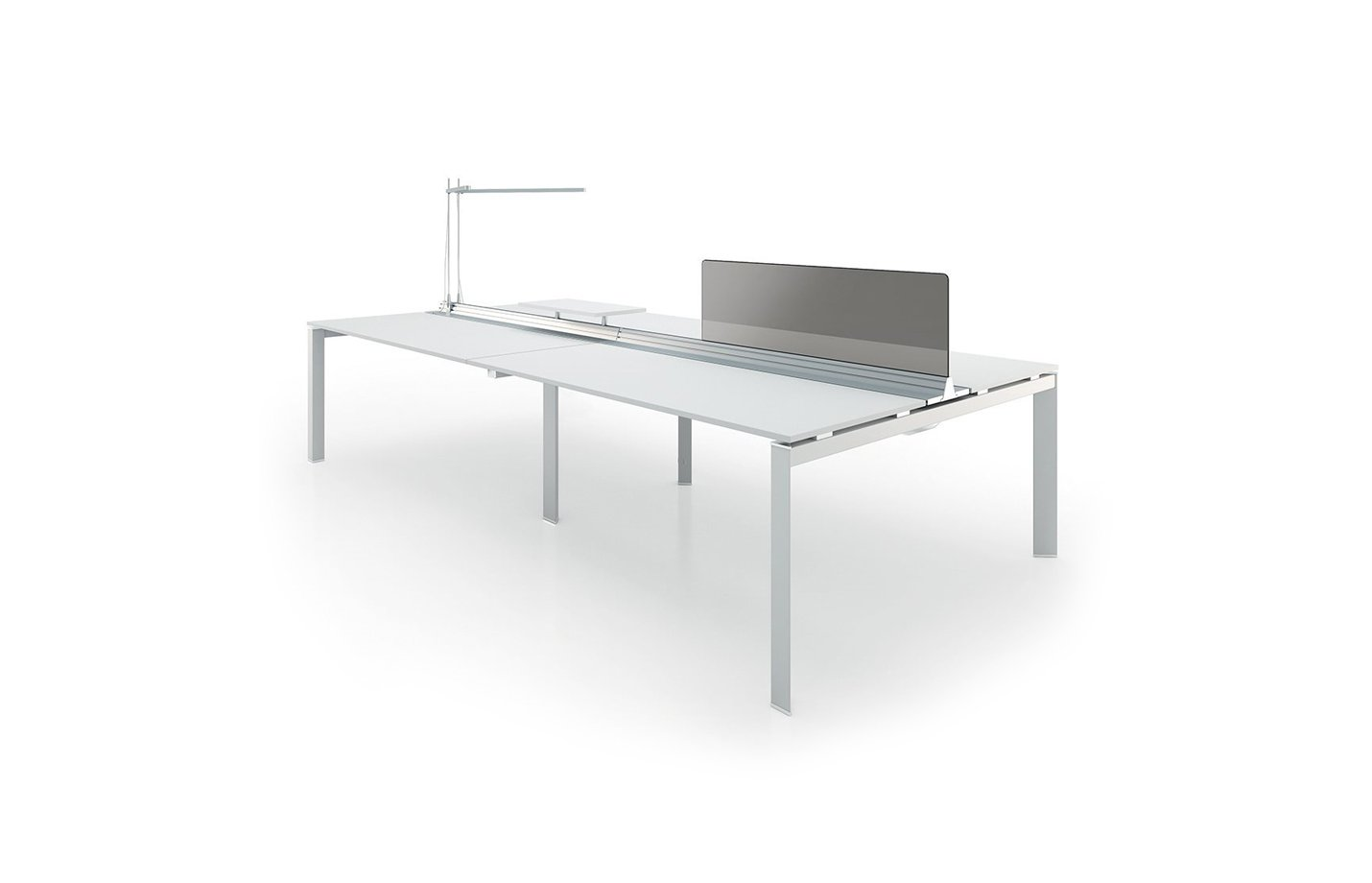 Sirius workstation table – white