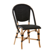 Sofie-chair-Rattan-black
