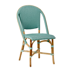 Sofie chair - Rattan - salvie green