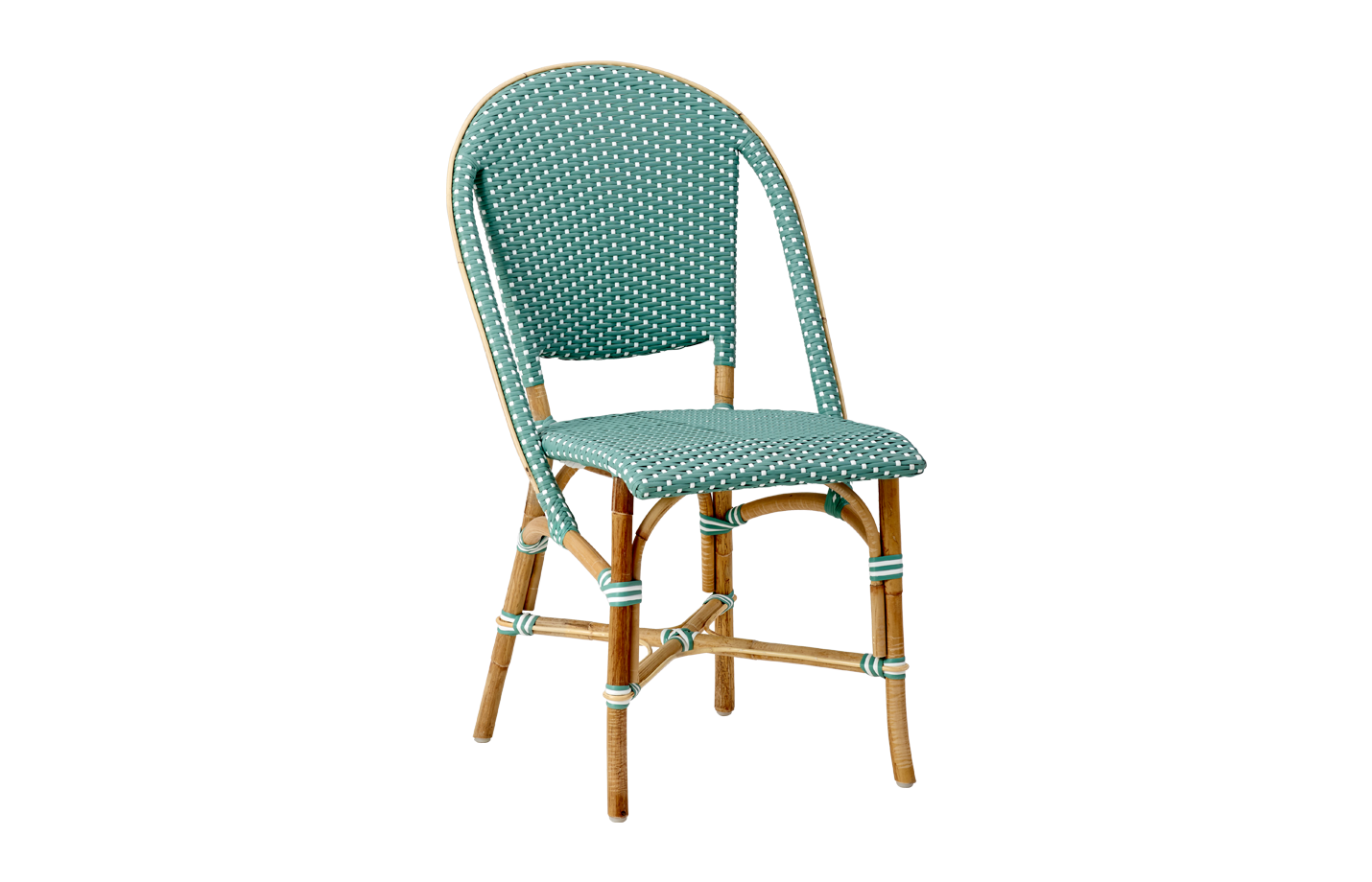 Sofie chair – Rattan – salvie green