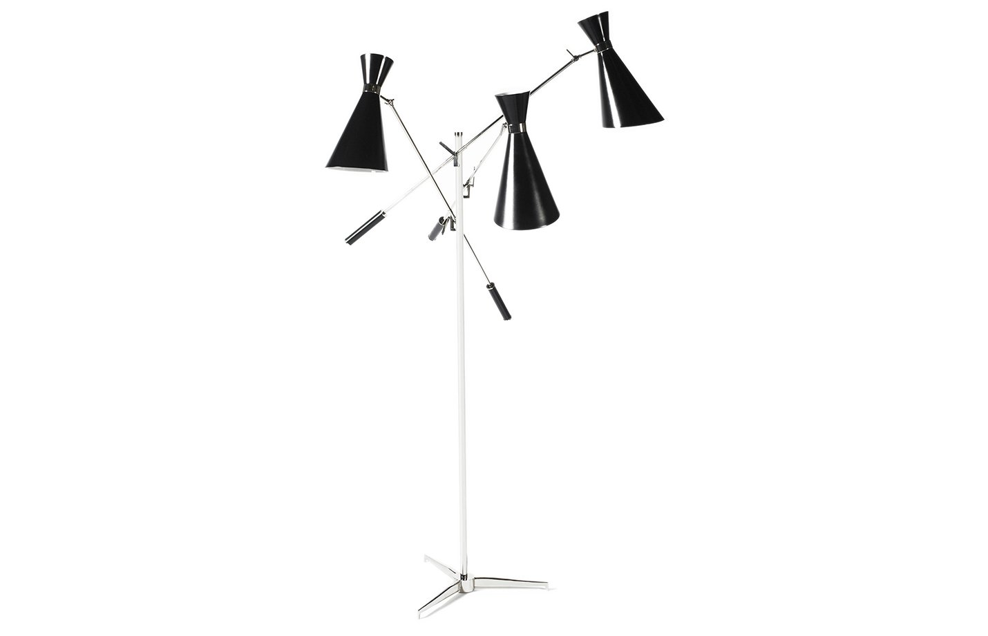 Stanley floor lamp – Black