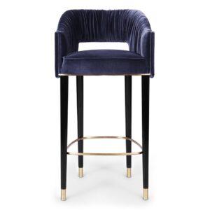 Stola bar chair - Blue