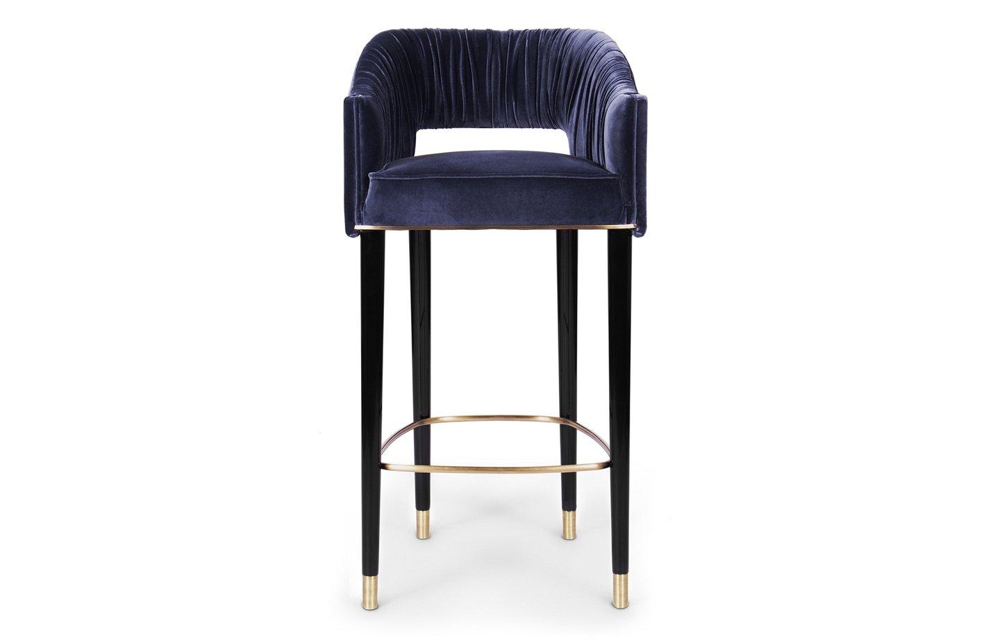 Stola bar chair – Blue