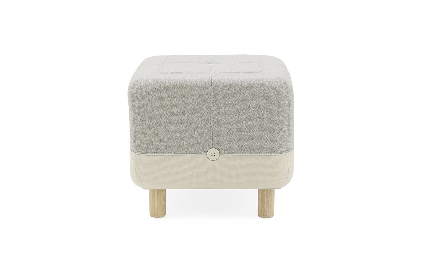 Sumo pouf – light grey
