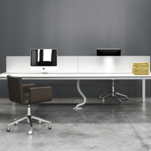 Sushi workstation table - white-front
