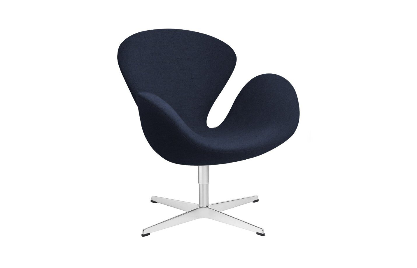 Swan-lounge-chair-fabric-Christianshavn-Dark-Blue