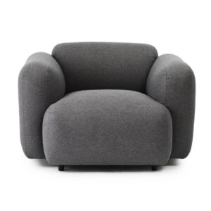 Swell armchair - medley - grey