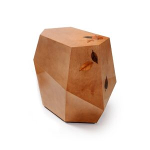 THREE ROCKS - High table - small - brown
