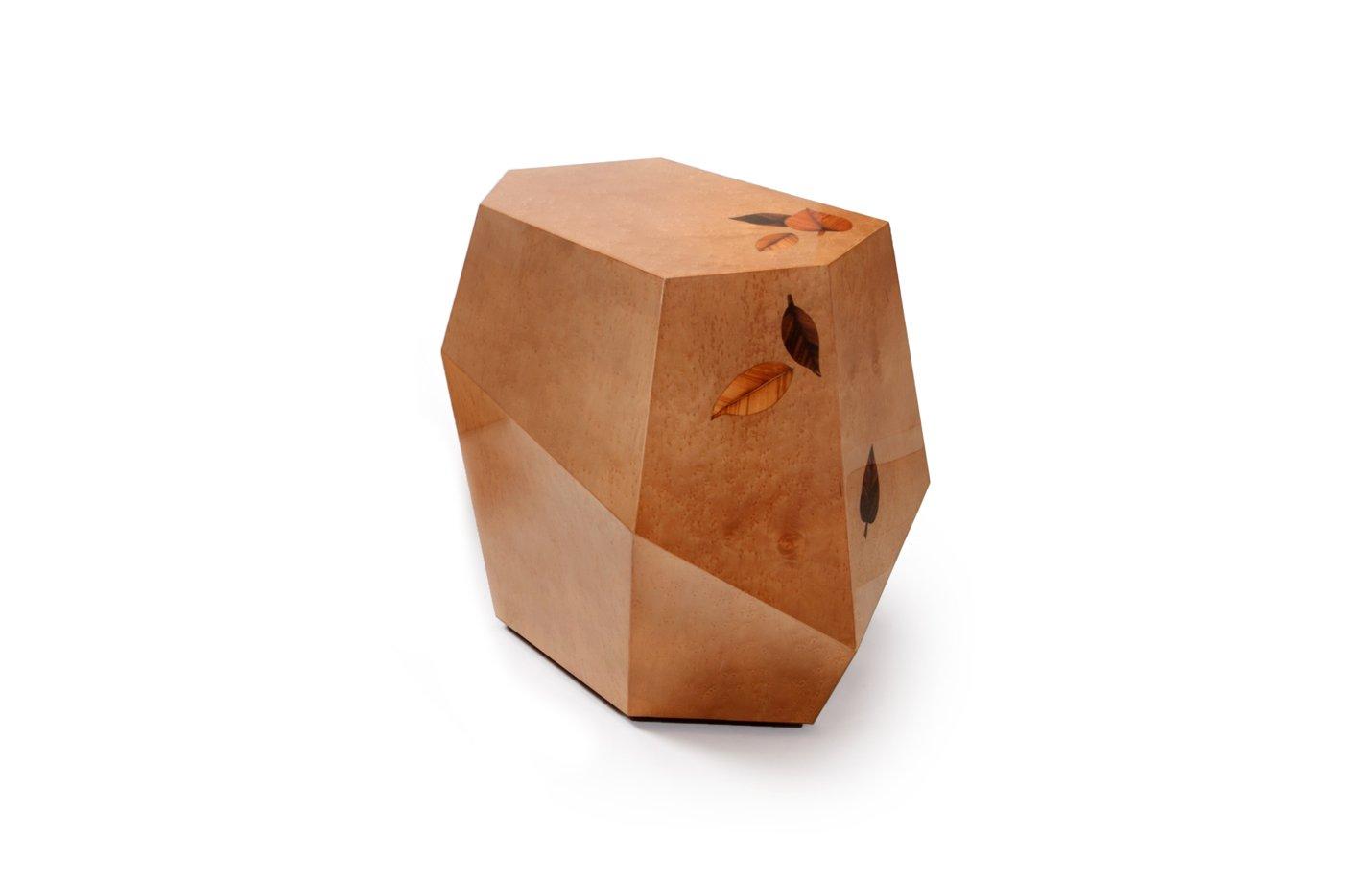 THREE ROCKS – High table – small – brown