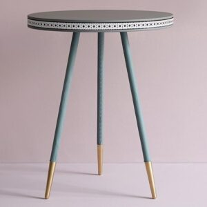Three Colour Brogue Side Table