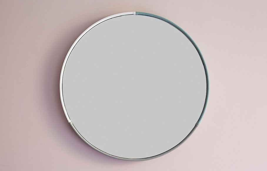 Three color Round Mirror – Grey