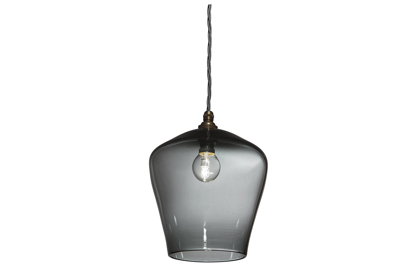 Traditional pendant lamp – Grey