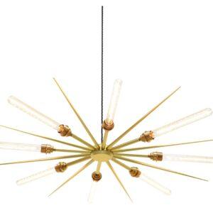 Vega 16 chandelier light - Gold
