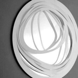 Web Round - Large - White