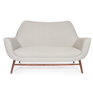 Western sofa two seater - light grey
