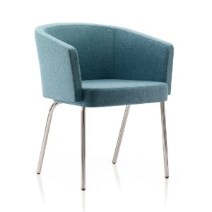Zone lounge chair - teal