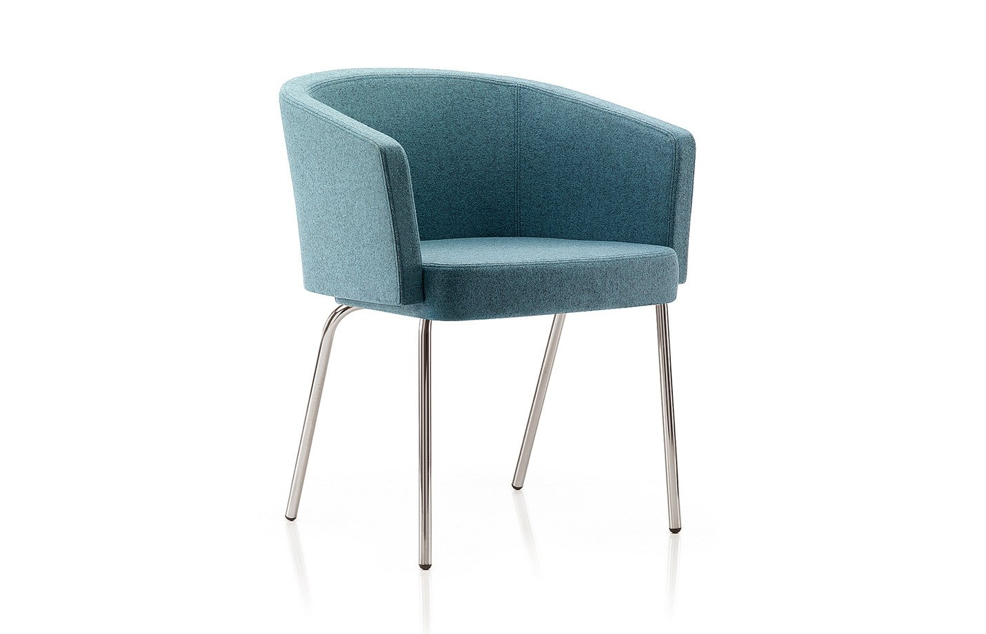 Zone lounge chair – teal