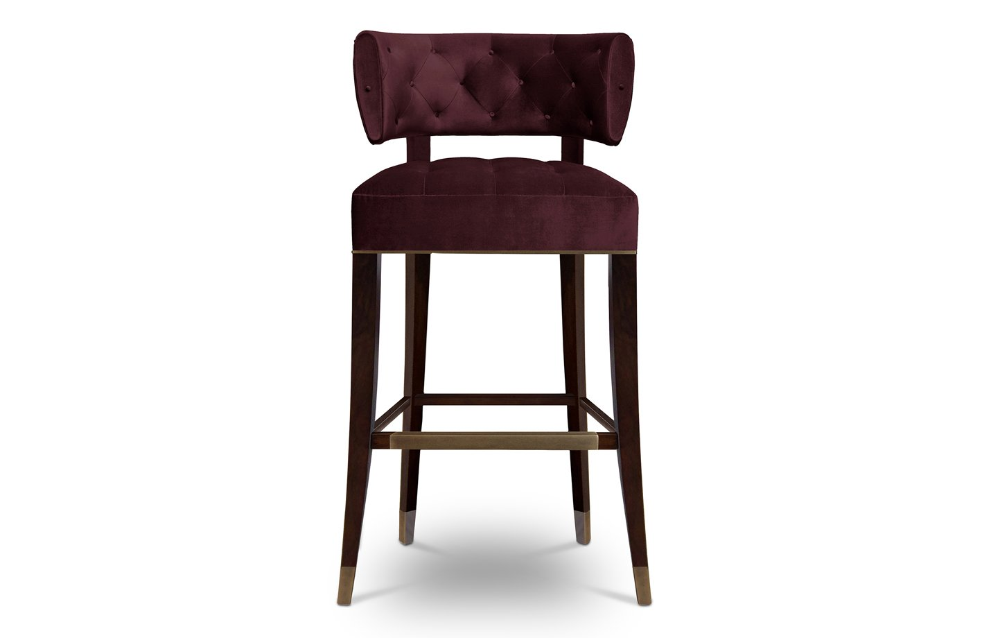 Zulu bar chair – Red