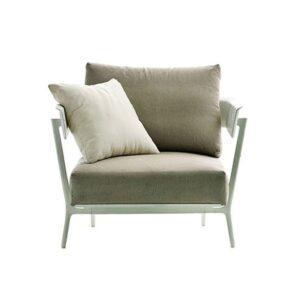 Aikana armchair - White