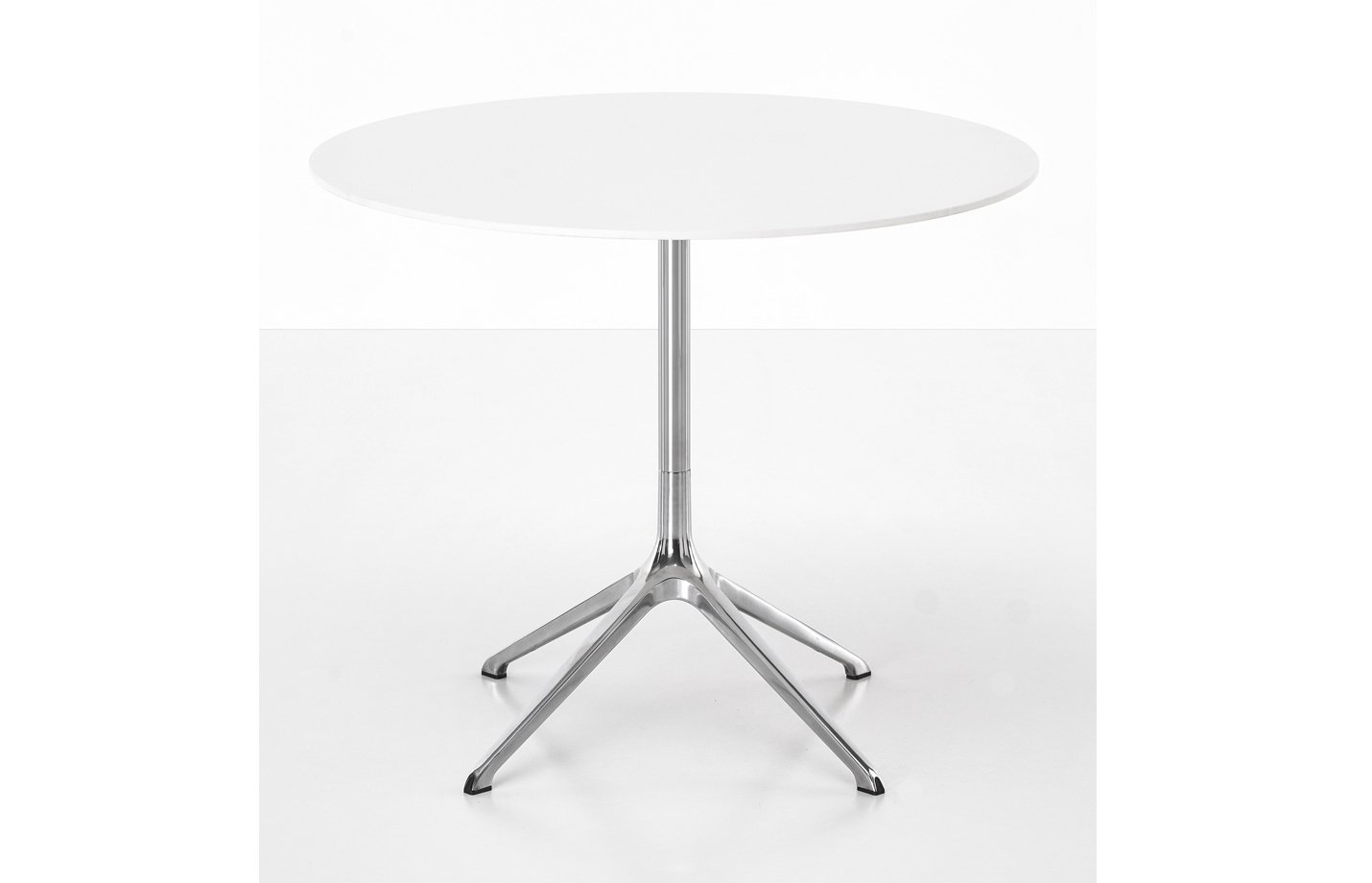 Elephant table – round – white