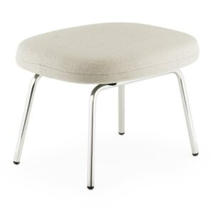 Era footstool - steel - beige