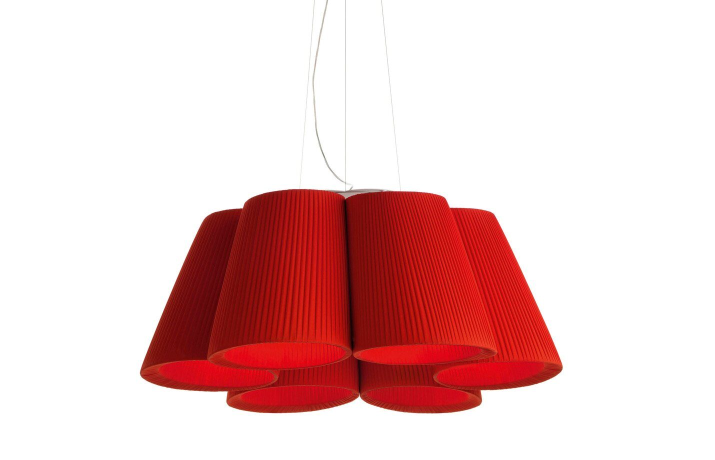 Florinda 6 Pendant Light - Red
